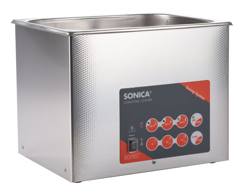 Sonica 3200 ETH S3 Ultrasonic Cleaner 6 Litres With Touch Panel