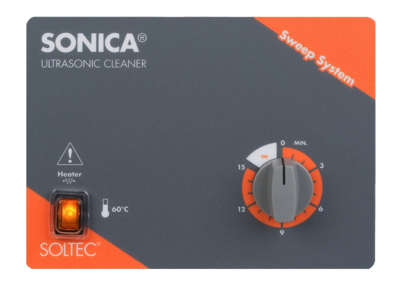 Sonica 3200 MH S3 Ultrasonic Cleaner 6 Litres with Heater