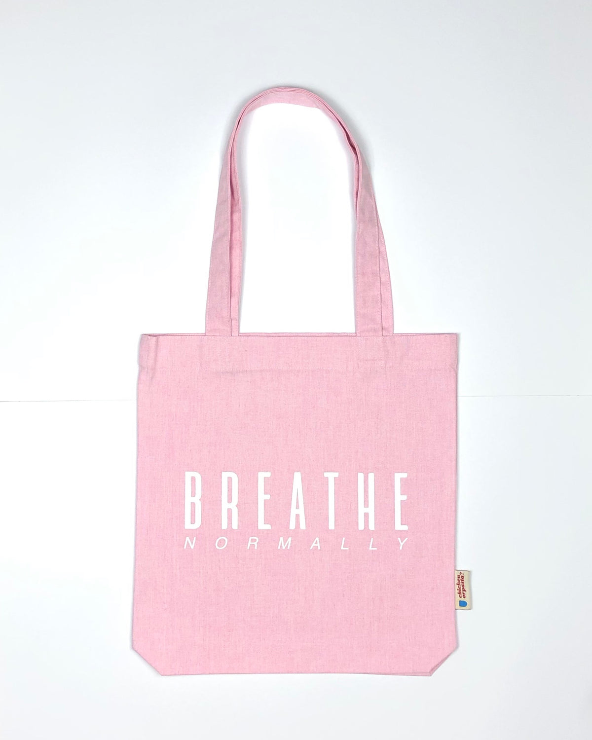 """Breathe Normally"" - Tote Bag - IN 3 COLOURS."