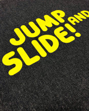 "Load image into Gallery viewer, ""Jump & Slide!"" - Tote bag - IN 3 COLOURS."
