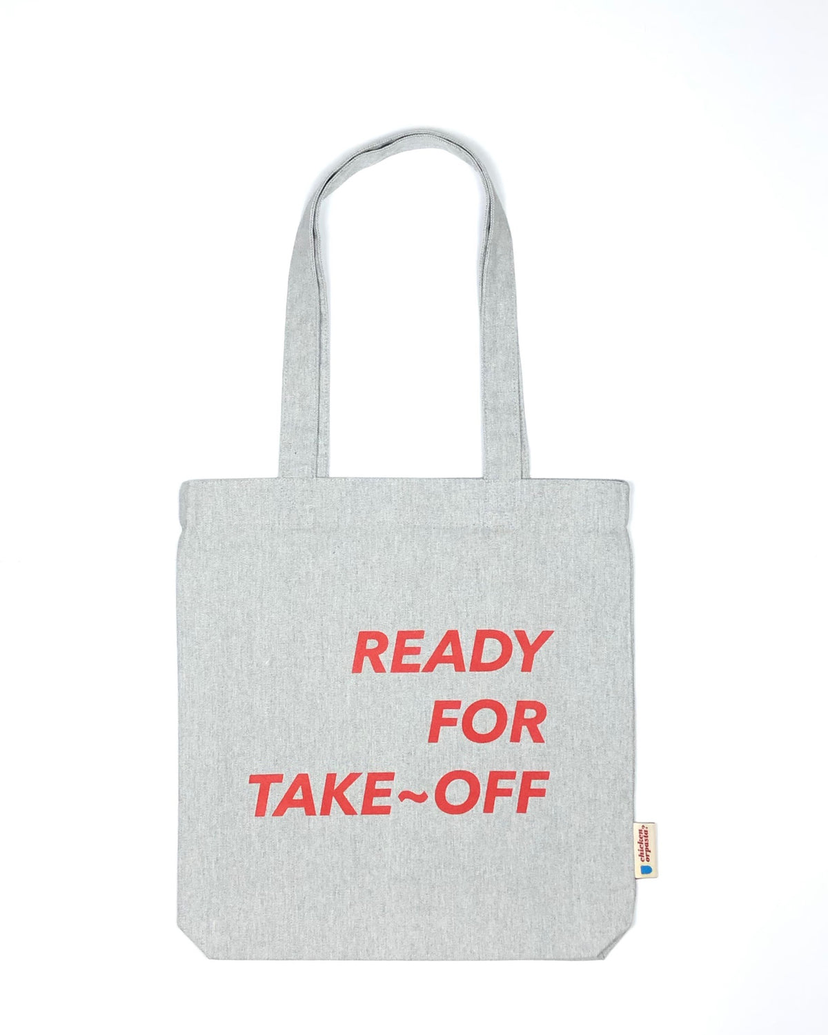 """Ready for Take~Off"" - Tote Bag - IN 3 COLOURS."