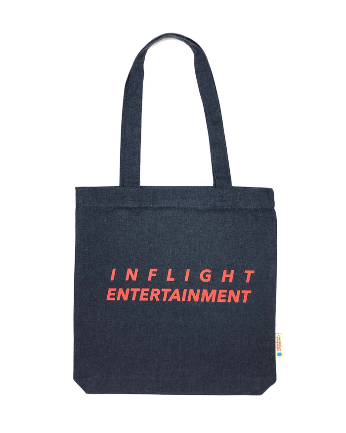 """Inflight Entertainment"" - Tote Bag - IN 3 COLOURS."