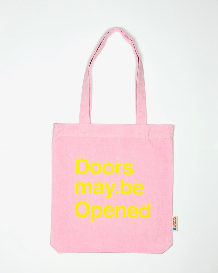 """Doors may be Opened"" - Tote Bag - In 3 COLOURS"