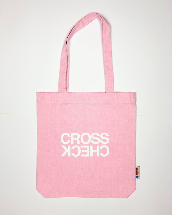 """Cross Check"" - Tote Bag - IN 3 COLOURS."