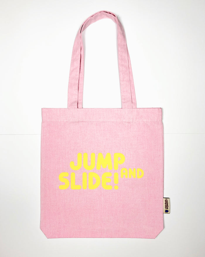 """Jump & Slide!"" - Tote Bag - IN 3 COLOURS!"