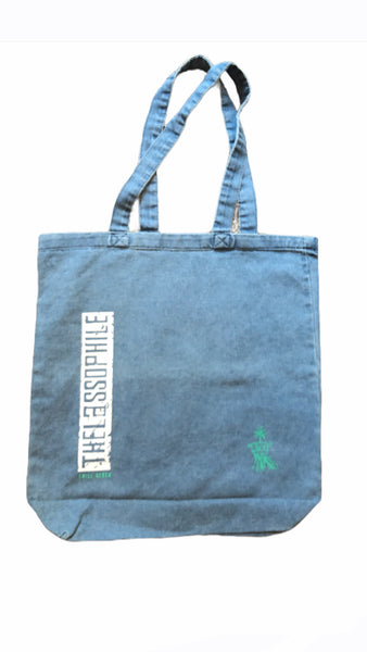 Thalassophile Denim Tote bag