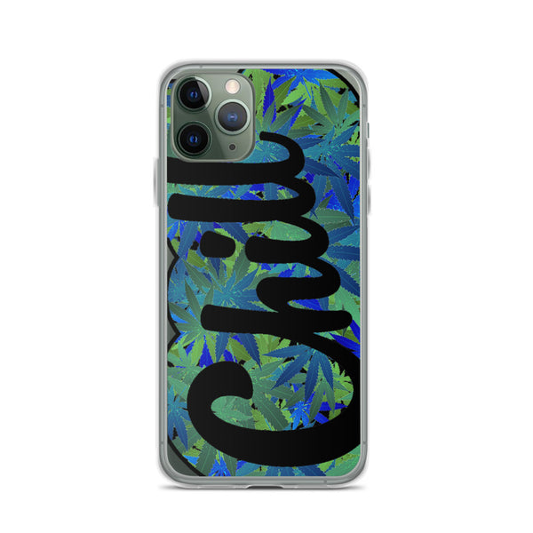 CHILL iPhone Case 4/20 BLUE