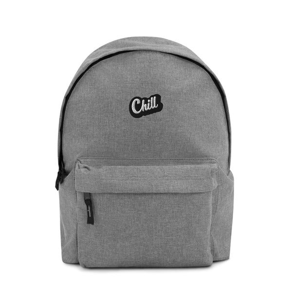 CHILL Logo Embroidered Backpack
