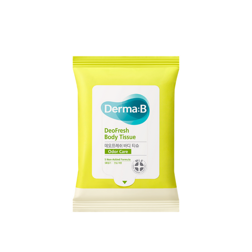 Derma B DeoFresh Body Tissue, 10 Wipes - Justrend.sg