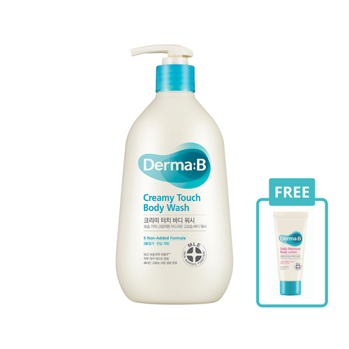 Derma B Creamy Touch Body Wash 400ml - Justrend.sg