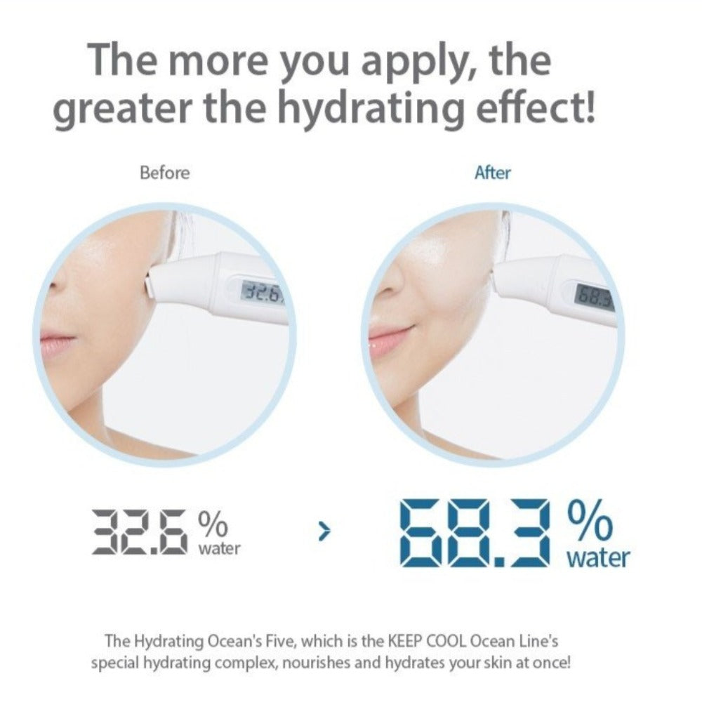 Keep Cool Ocean Hydrating Gel Cream, 50ml - Justrend.sg