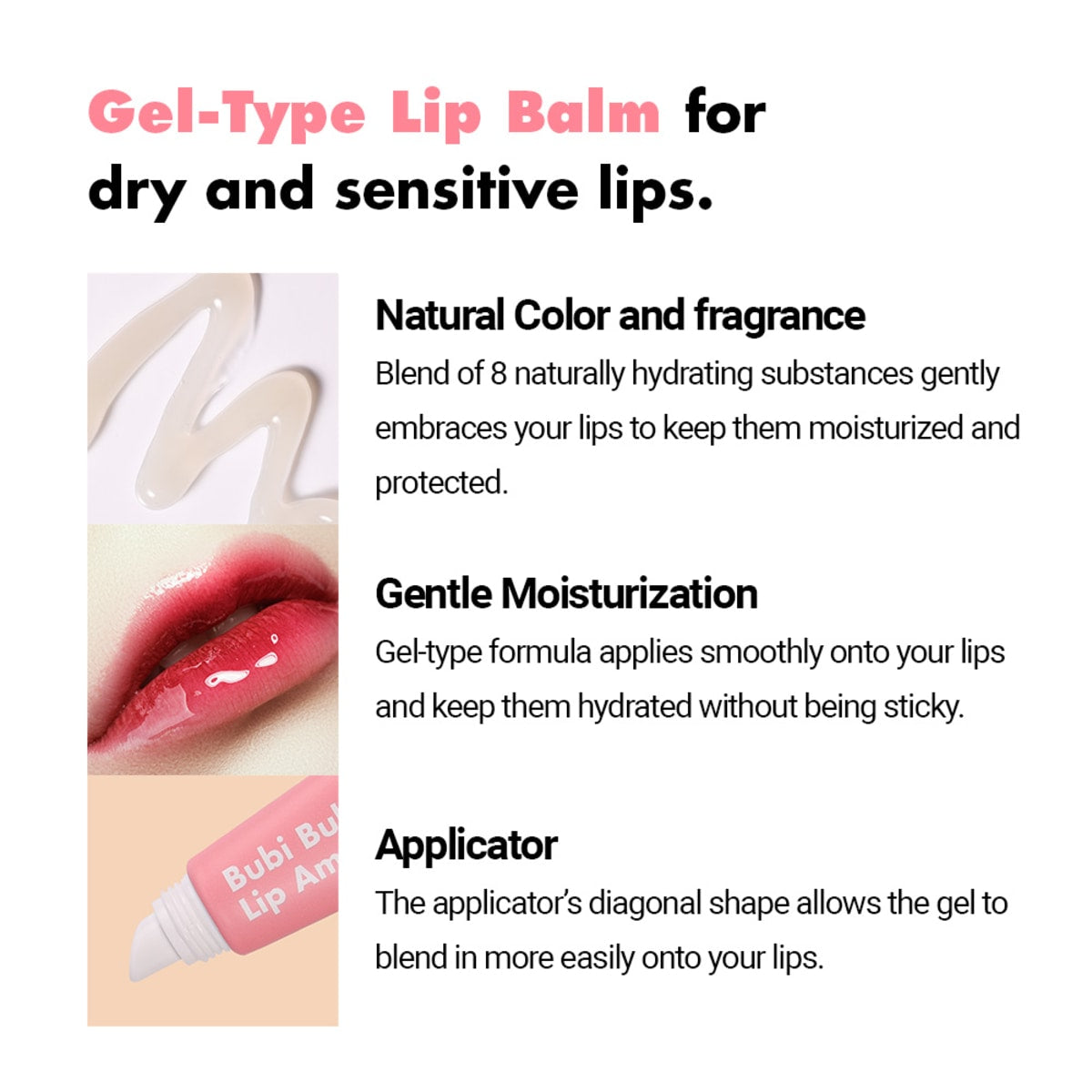 Unpa Bubi Bubi Lip Ampule - Intense Lip Treatment - Justrend.sg