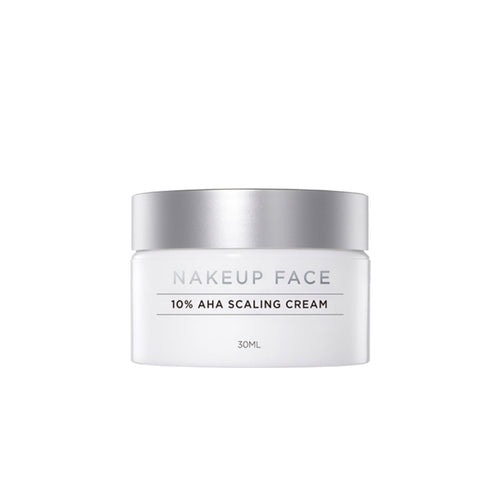 Nakeup Face 10% AHA Scaling Cream - Exfoliating cream - Justrend.sg