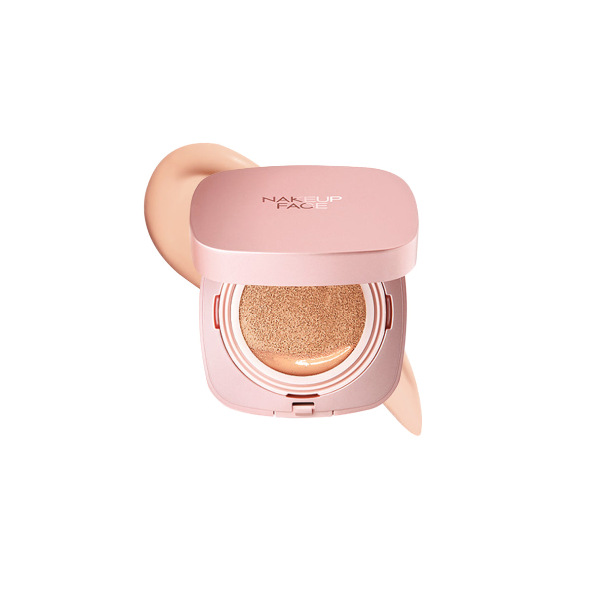 Nakeup Face Coverking Powder Cushion for Oily/Combination Skin - Justrend.sg