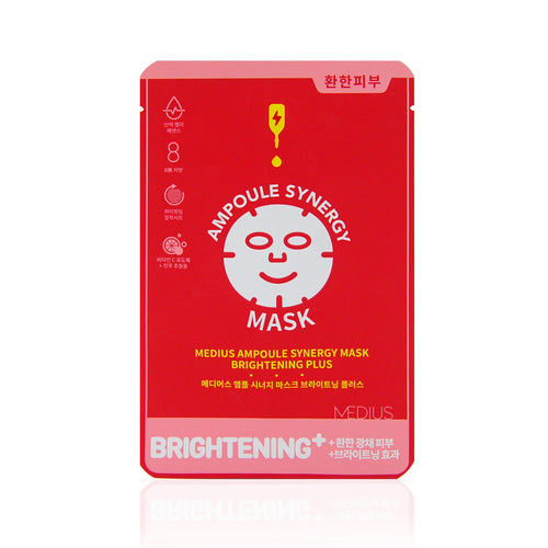 Medius Ampoule Synergy Mask 1 box (5pcs)- Brightening Plus - Justrend.sg