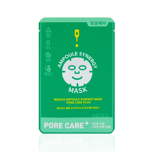 Medius Ampoule Synergy Mask - Pore Care Plus - Justrend.sg