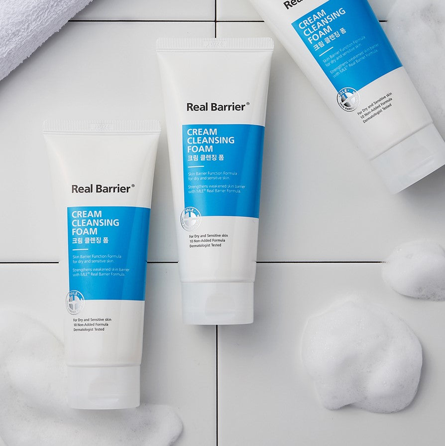 Real Barrier Cream Cleansing Foam 150g - Justrend.sg