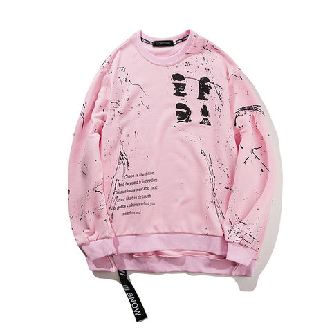 Inked Grafitti Pullover