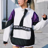 Vintage Purple Patchwork Pullover