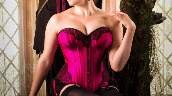 Bespoke corsetry and custom Victorian style, steel-boned corsets by Angela Friedman
