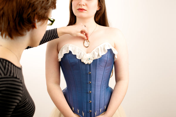 Bespoke and custom sized corsets for costume and burlesque