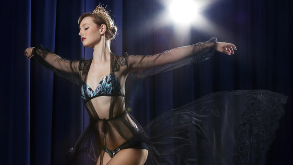 Ballet inspired lingerie and underwear collection by Angela Friedman