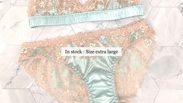 Size extra large XL underwear and luxury lingerie sets