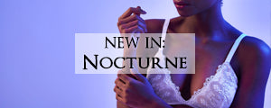 The Nocturne collection of luxury lingerie by designer Angela Friedman