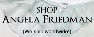 Shop online Angela Friedman lingerie boutique UK England London British brand instagram landing page, about the brand luxury underwear