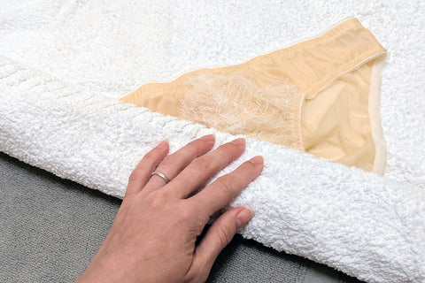 hand wash delicates, handwashing tips, how to handwash silk lingerie panties knickers undies how-to