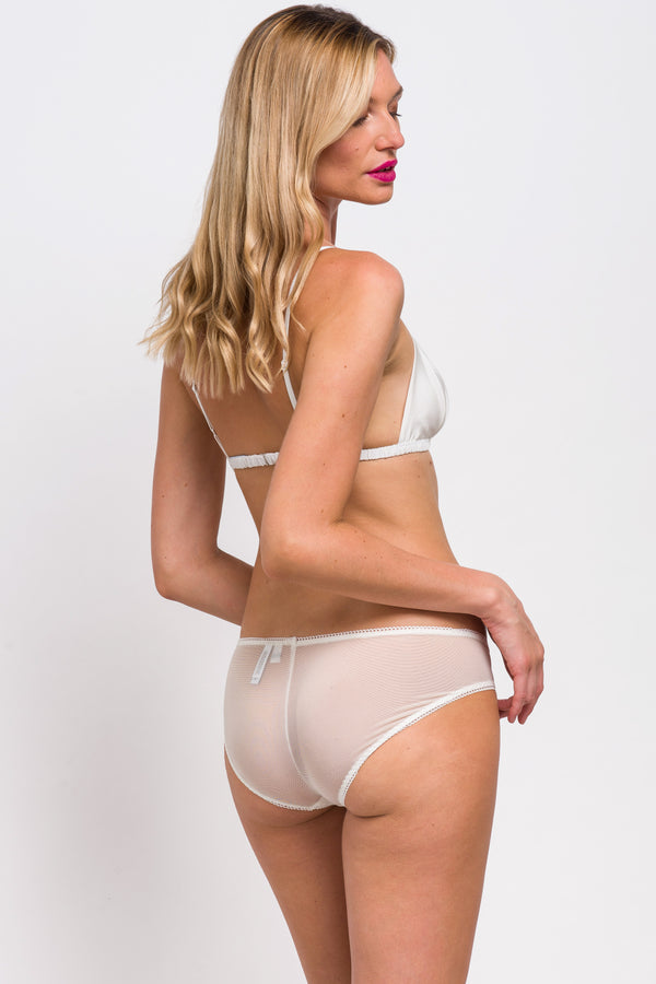 White underwear set for weddings and honeymoon wear