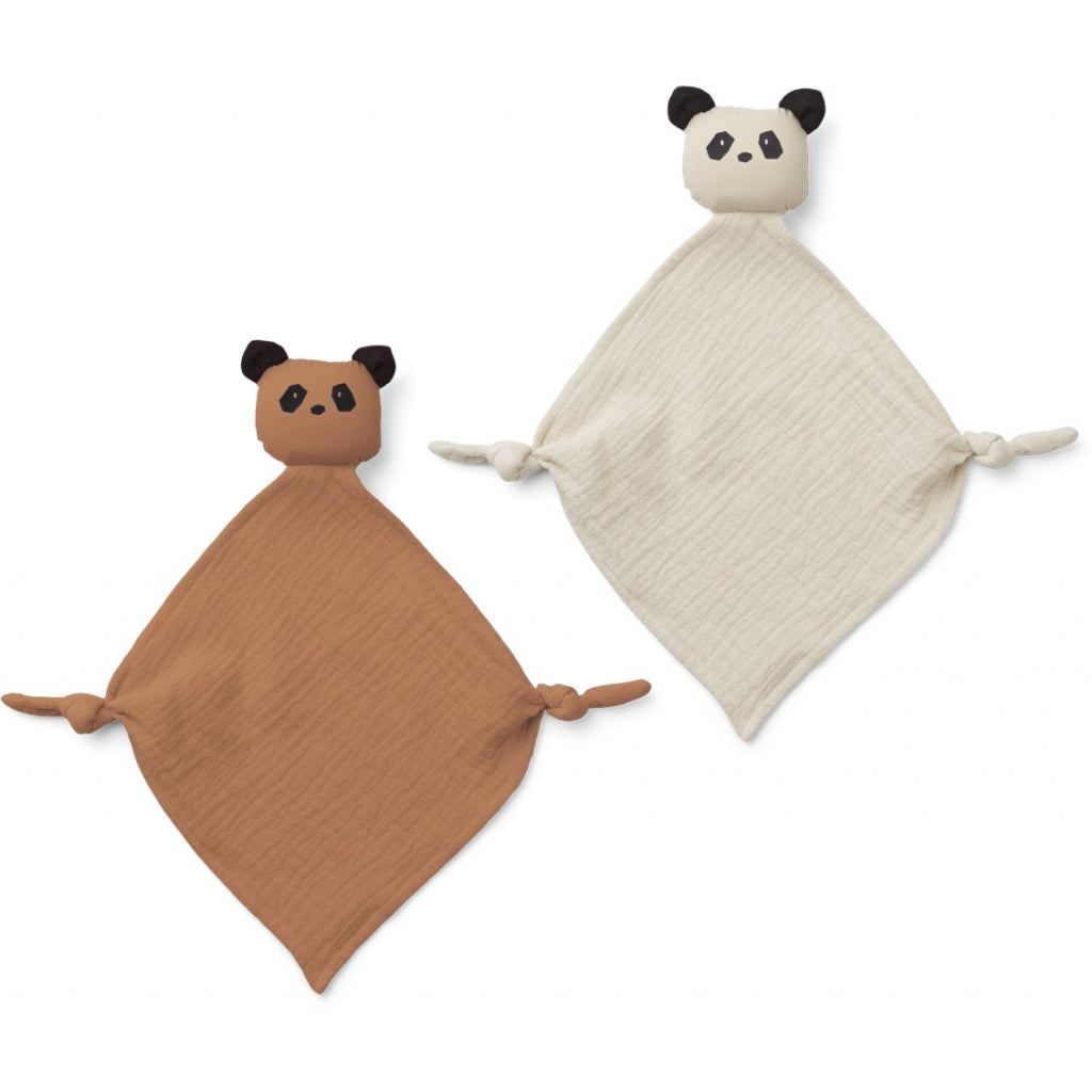 liewood - 2 pack cuddle cloth - baby at the bank