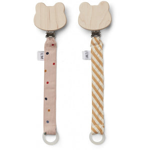 You added <b><u>Liewood - Sia Pacifier Strap 2 pack Confetti Mix</u></b> to your cart.