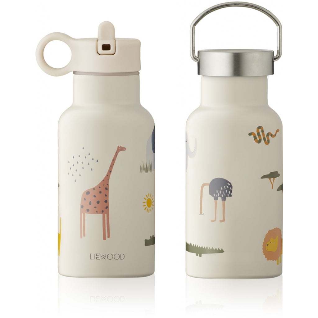 Liewood - Anker Water Bottle Safari Sandy Mix