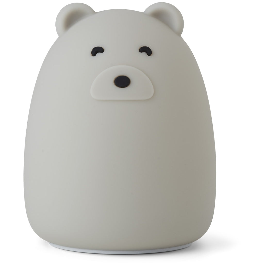 Liewood- Mr Bear Night Light, Dove Blue