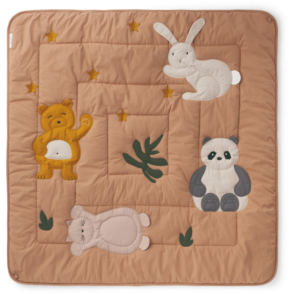 liewood - glen activity blanket tuscan rose- baby at the bank