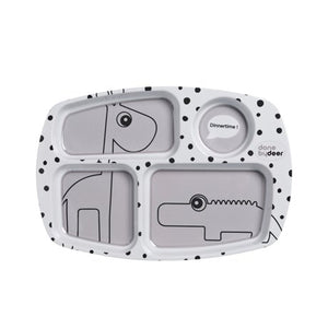 You added <b><u>Done By Deer - Compartment Plate Happy Dots Grey</u></b> to your cart.
