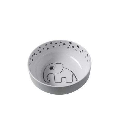Done By Deer - Yummy Bowl Happy Dots Grey - Baby at the Bank