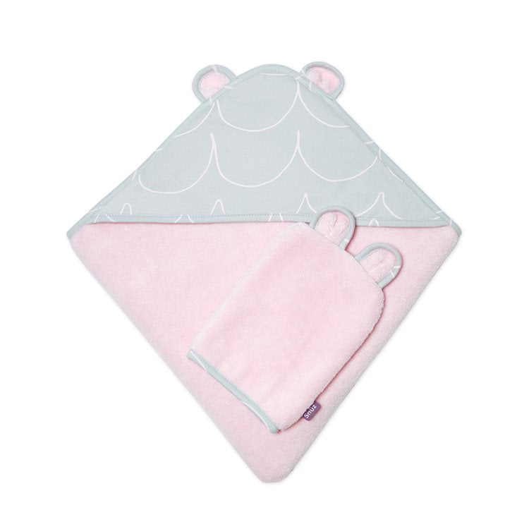 Snuz - Baby Bath & Bed Set Wave Rose - Baby at the Bank