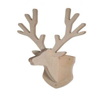 Kidsmill - Deer Head Coat Rack - Baby at the Bank