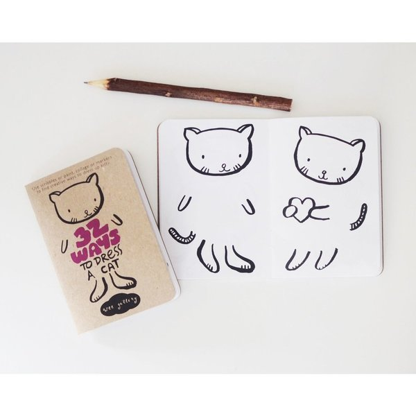 Wee Gallery - Dress A Cat Activity Book
