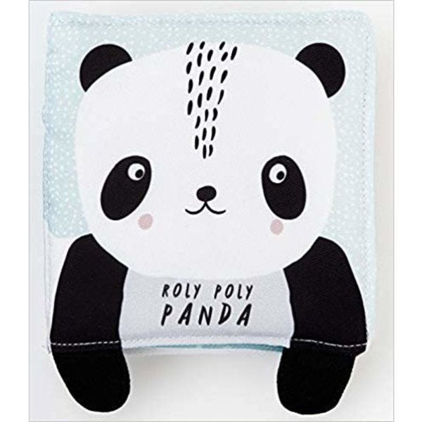 wee gallery-soft book panda-baby at the bank