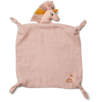 Liewood- Unicorn cuddle Cloth Sorbet Rose