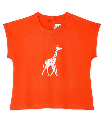 petit bateau- giraffetshirt-baby at the bank