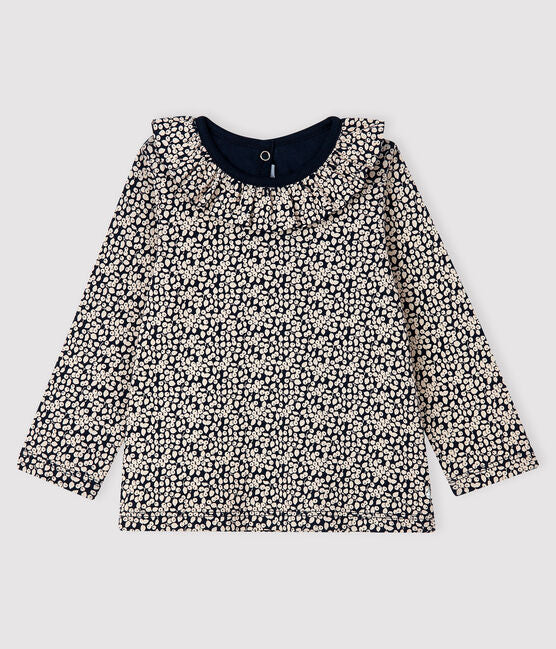 petit bateau-long sleeved blouse- baby at the bank