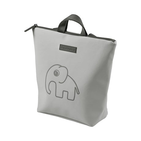 done by deer-elphee kids back pack grey-baby at the bank