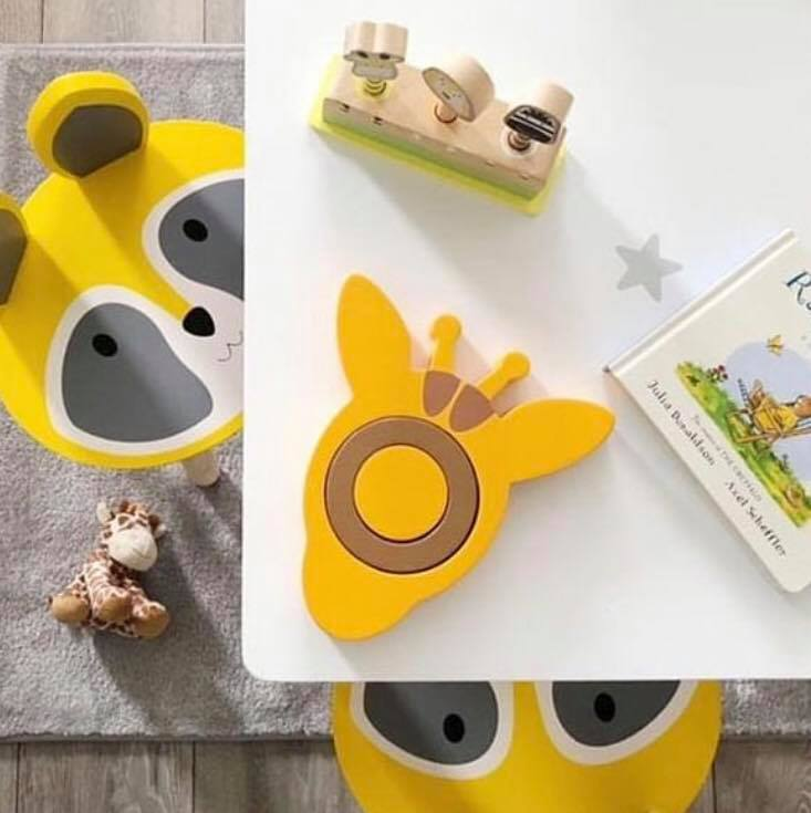 Little Stories - Wooden Giraffe Stacker