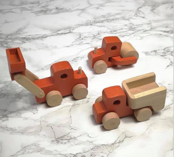 Little Stories - Wooden Construction Toys