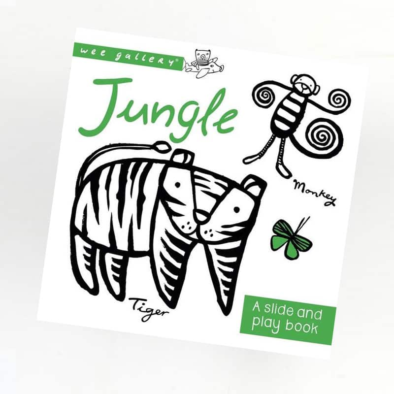 Wee Gallery - Jungle Slide And Play Book