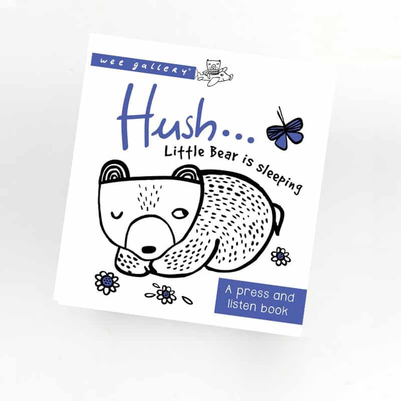 Wee Gallery - Hush Sound Book